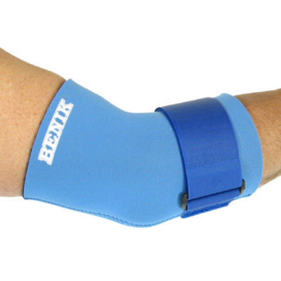 E-203 Bent Elbow Sleeve with Compression Strap