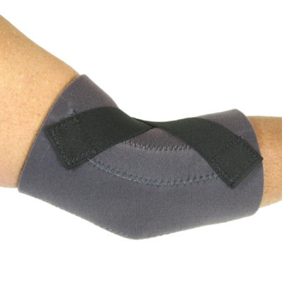 E-500 Bent Elbow Sleeve with Spiral Stays and 'X' Straps