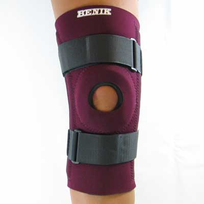 K-204 Knee Sleeve W/Removable Buttress, Spiral Stays and Cinch Straps