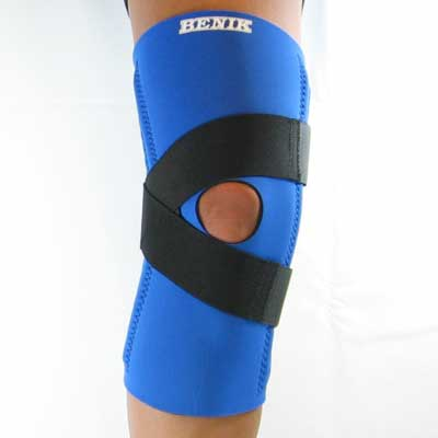 K-205 Knee Sleeve W/Removable Buttress, Spiral Stays and V Straps