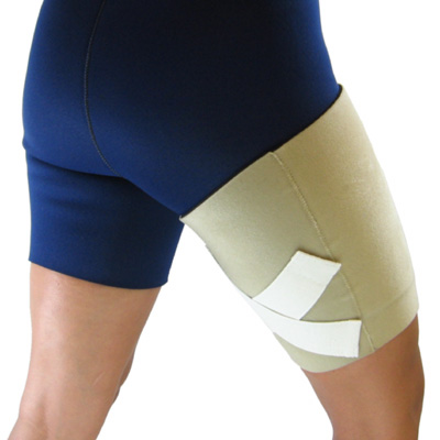 T-103 Thigh Sleeve with Compression Straps