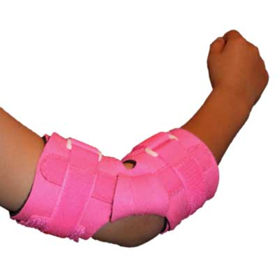 E-505V Pediatric Padded Elbow Wrap