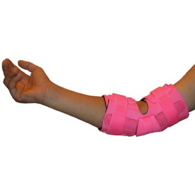 E-505V Pediatric Padded Elbow Wrap - Alt. View
