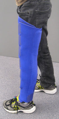 K-600 Knee Extension Wrap - Lateral View