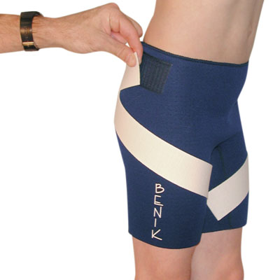 NSB Pediatric Neoprene Shorts with Strap